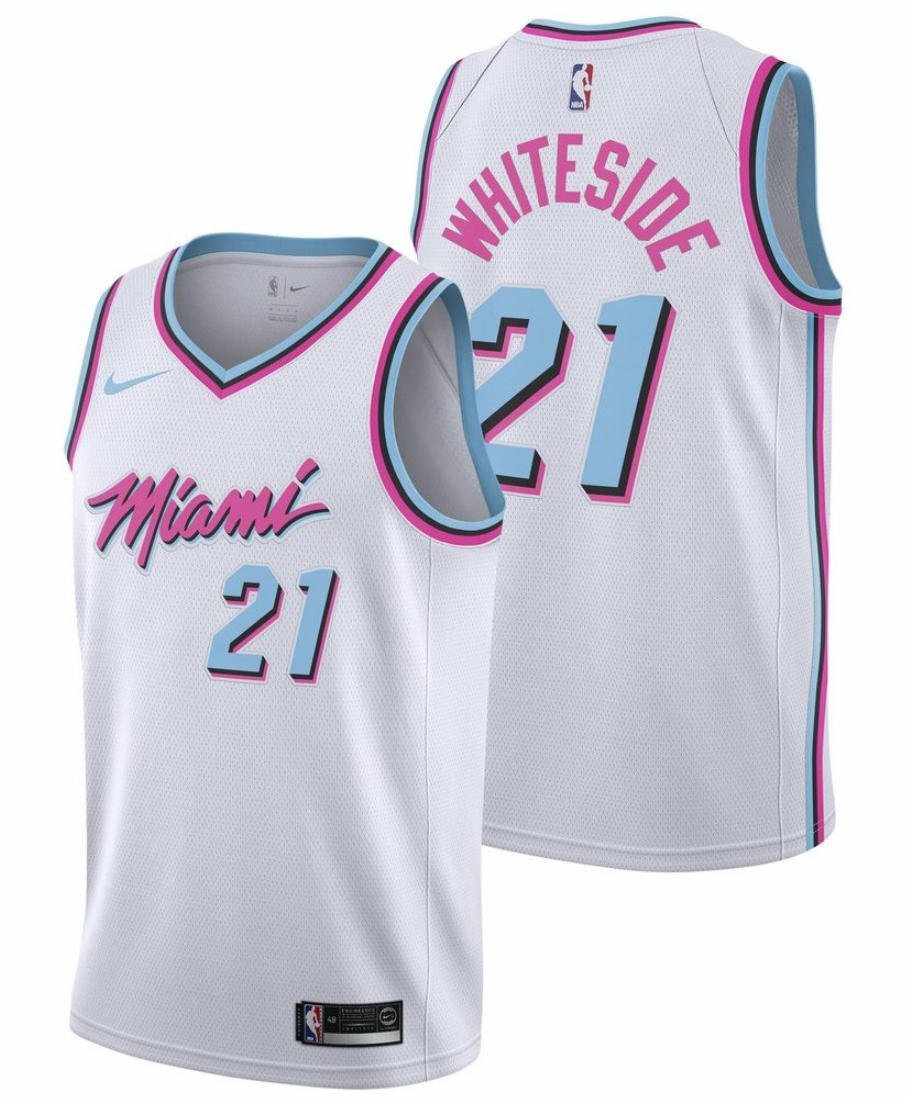 4040f4005b5 As someone raised in a city where we worship a fictional sports character  (Rocky Balboa), I can completely get behind this Heat jersey that channels  a ...
