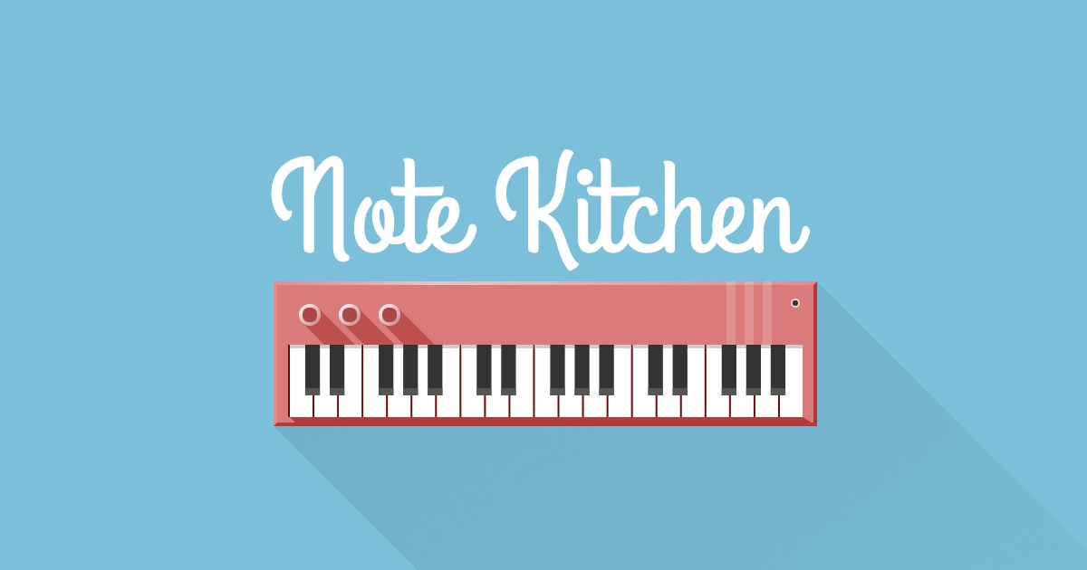 Note Kitchen Search And Learn Piano Chords And Scales