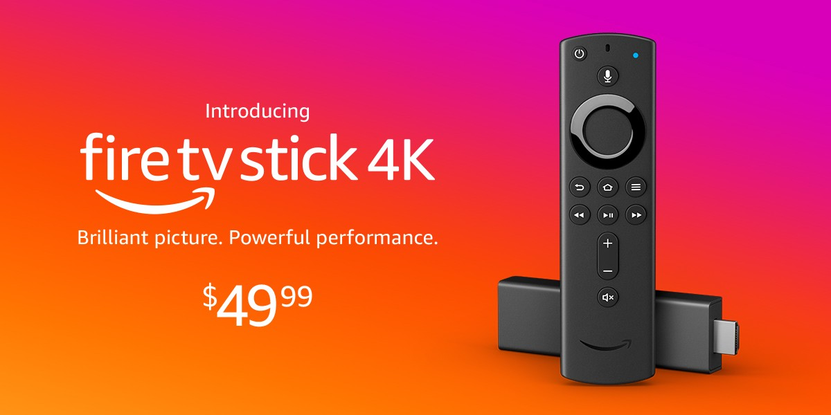 Introducing Fire Tv Stick 4k With All New Alexa Voice Remote