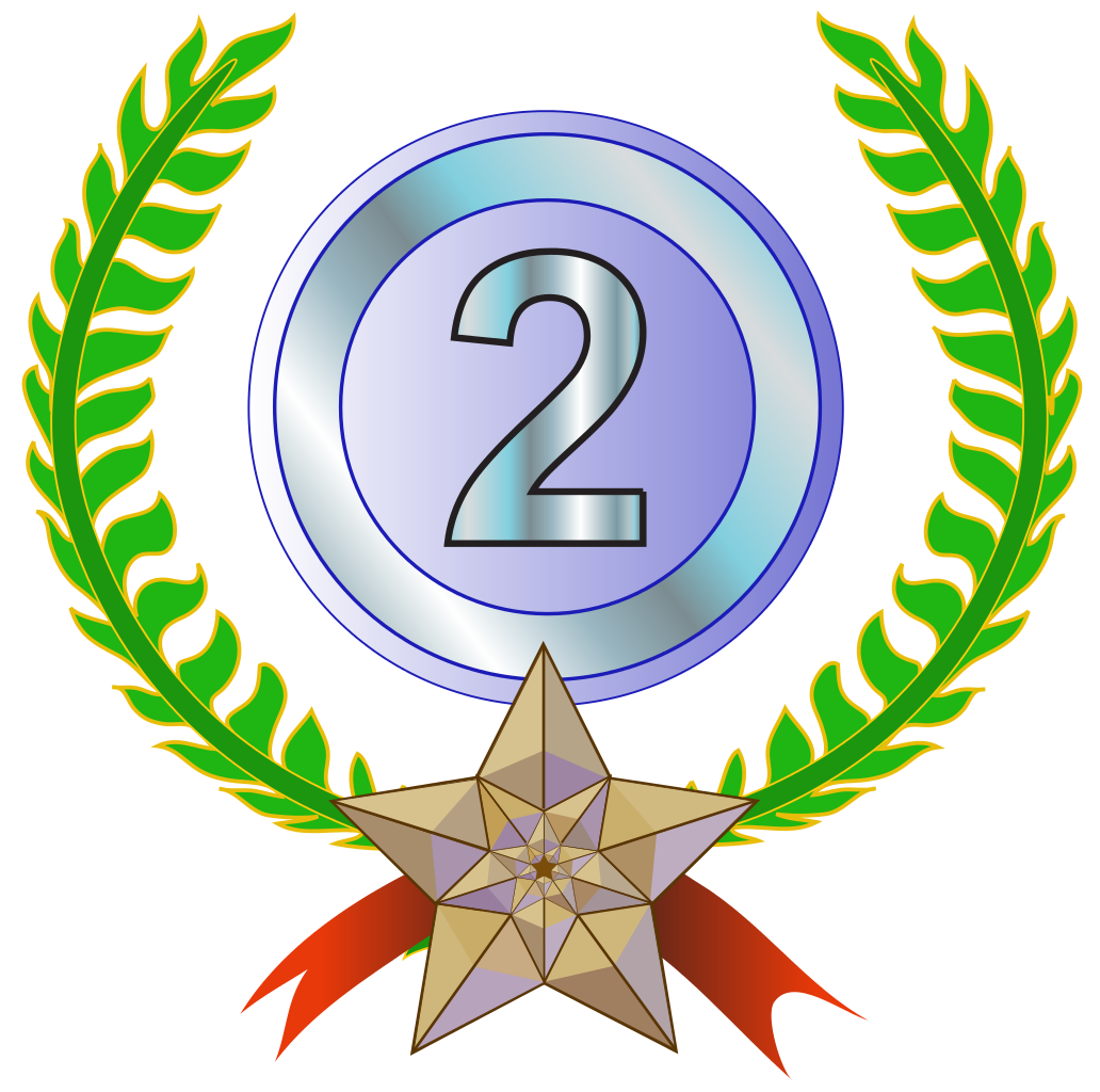 Image result for second place png