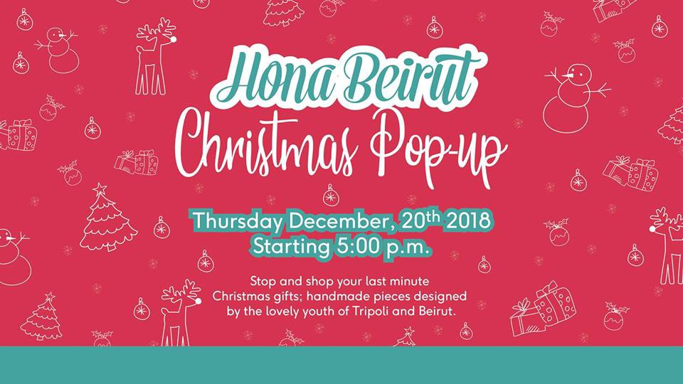 March S Hona Beirut Christmas Pop Up For Your Last Minute Christmas