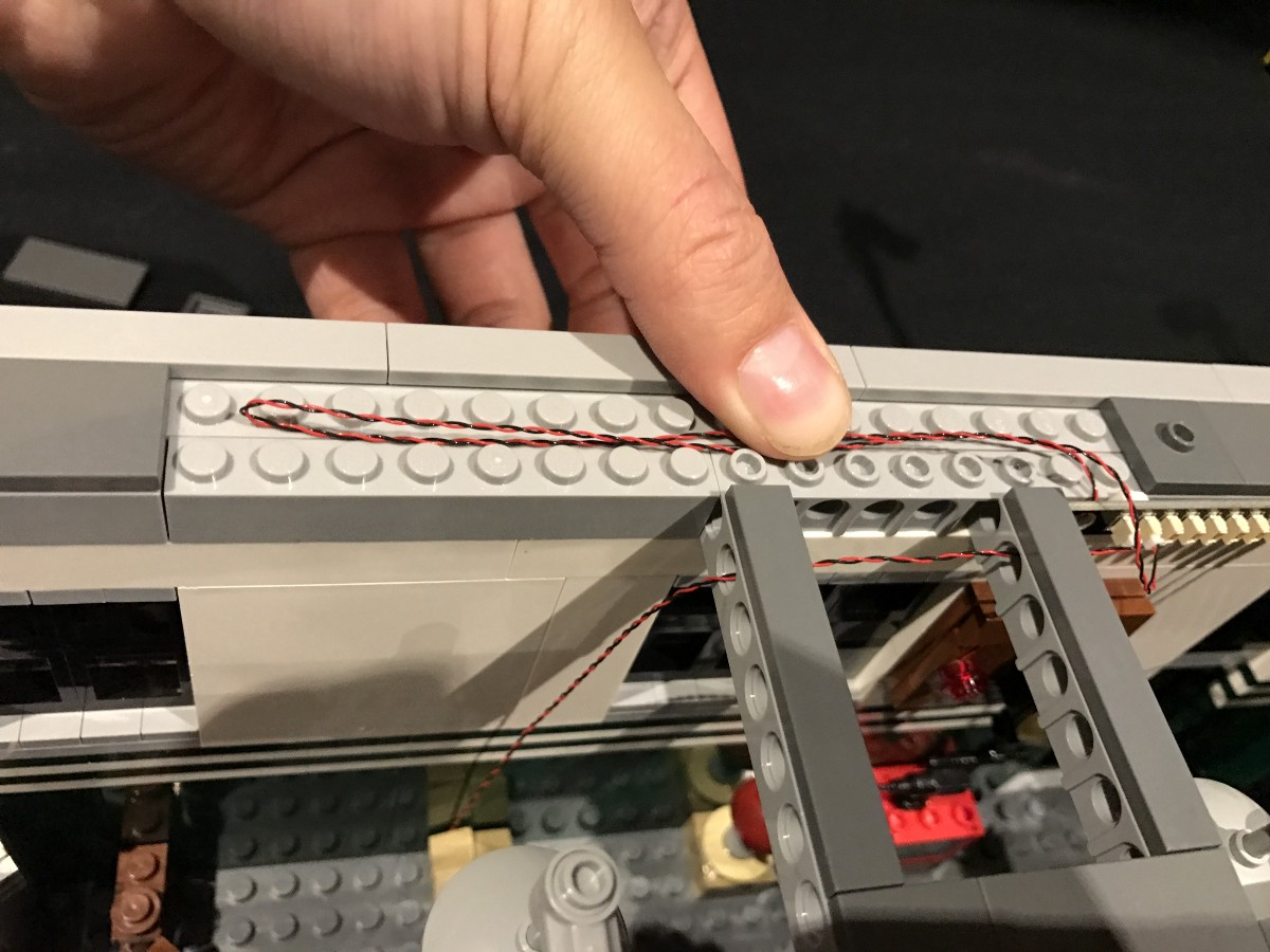 Light My Bricks Ghostbusters Firehouse Headquarters Led Lighting Kit Components Shown Below To Build A Flashing Circuit Complete The We Will Now Install Bit Lights 2 Ceiling Start Be Disconnecting Them And Then Disassemble As Pictured