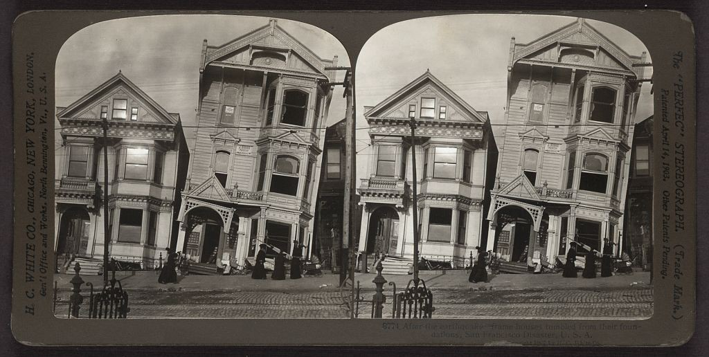 san francisco before and after the 1906 earthquake and fire