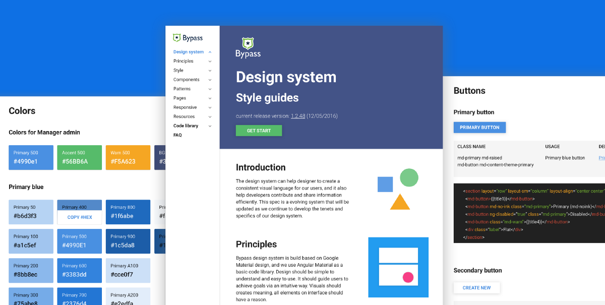 Designing Design System for Complex Products