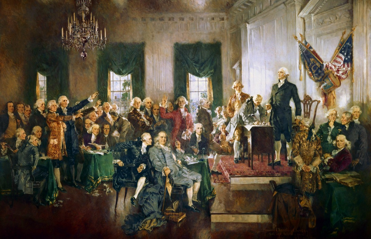 the constitution of the united states has failed