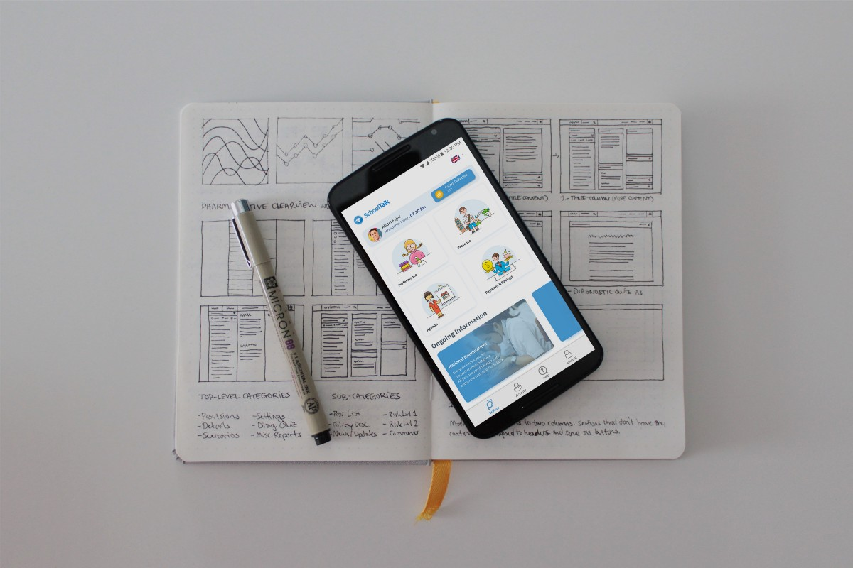 UX Case Study: How to monitor child's development in school through a mobile app