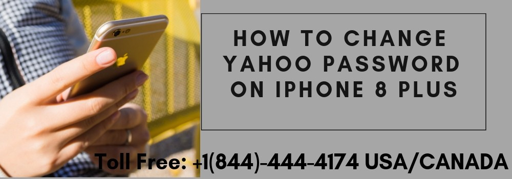 How to change my yahoo password on my iphone 8