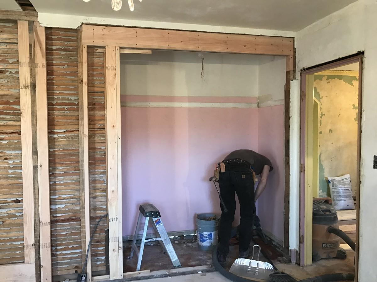 pretty framing a bathroom. Framing in of our new master bathroom layout a 1927 Bedroom into Master Bath  Between 6 and 7
