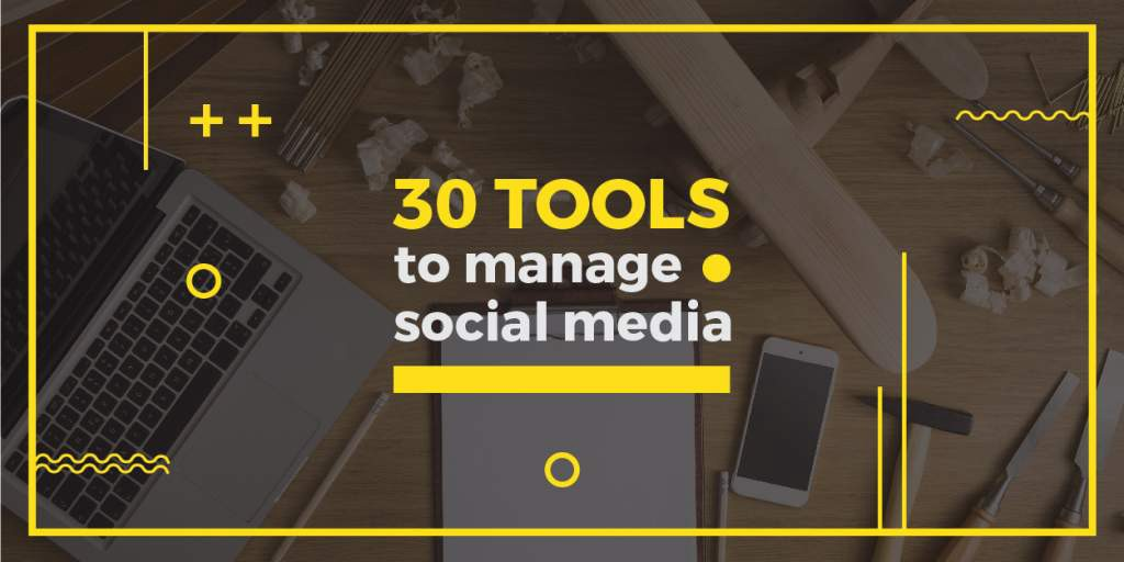 53726c474b03 To help you, we put together a list of all the important tools that will  help you manage your social media presence and do so in an efficient and  most cost ...