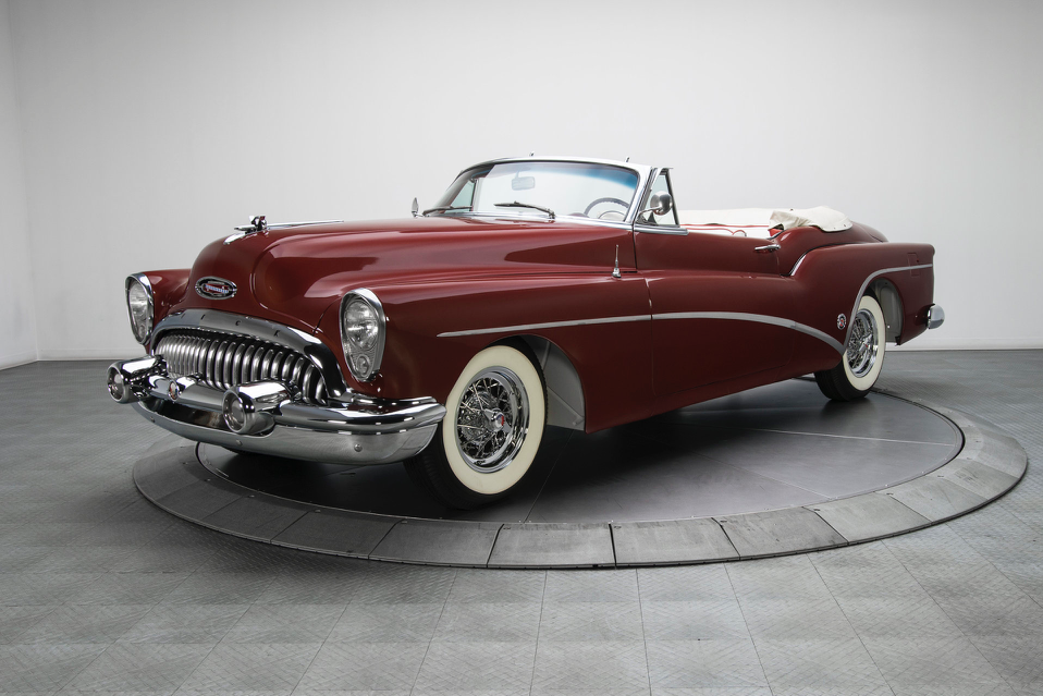Extensively Restored 1953 Buick Skylark Convertible To Be Sold At