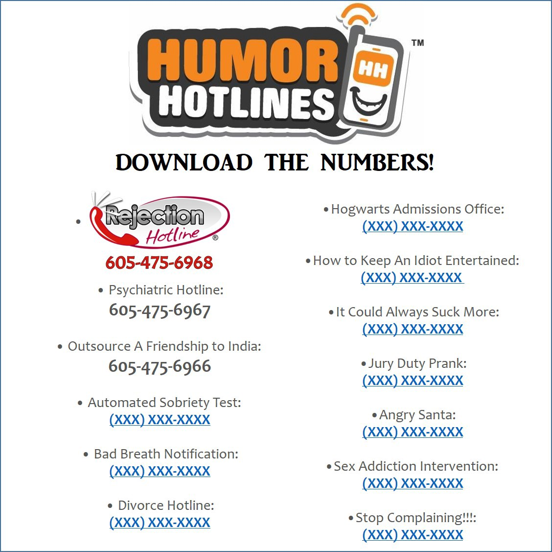 Phone number for dating hotline