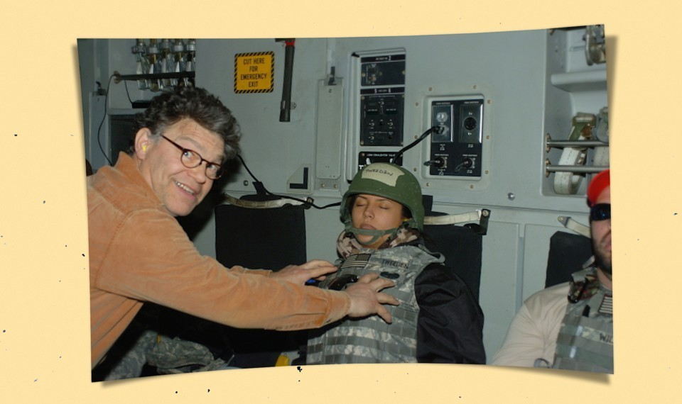Al Franken That Photo And Trusting The Women The