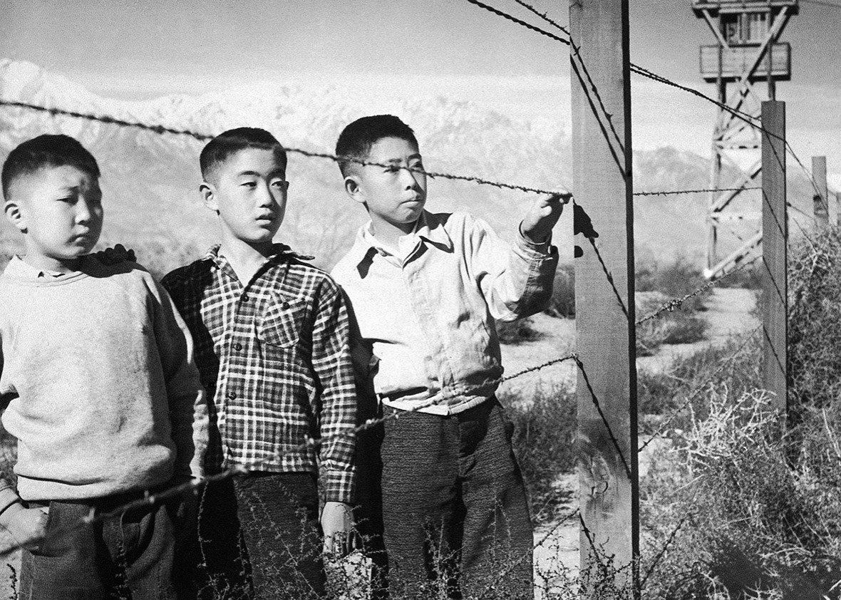 Image result for japanese internment camps ww2