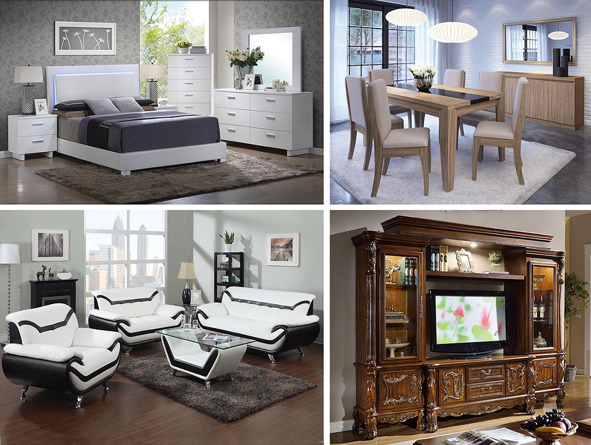 Furniture styles the most popular types b a stores for Types of furniture styles