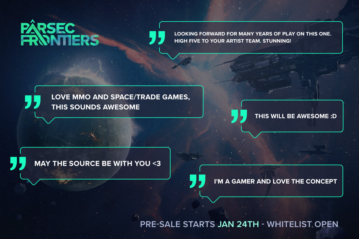 Pre-sale whitelist almost full! – Parsec Frontiers – Medium
