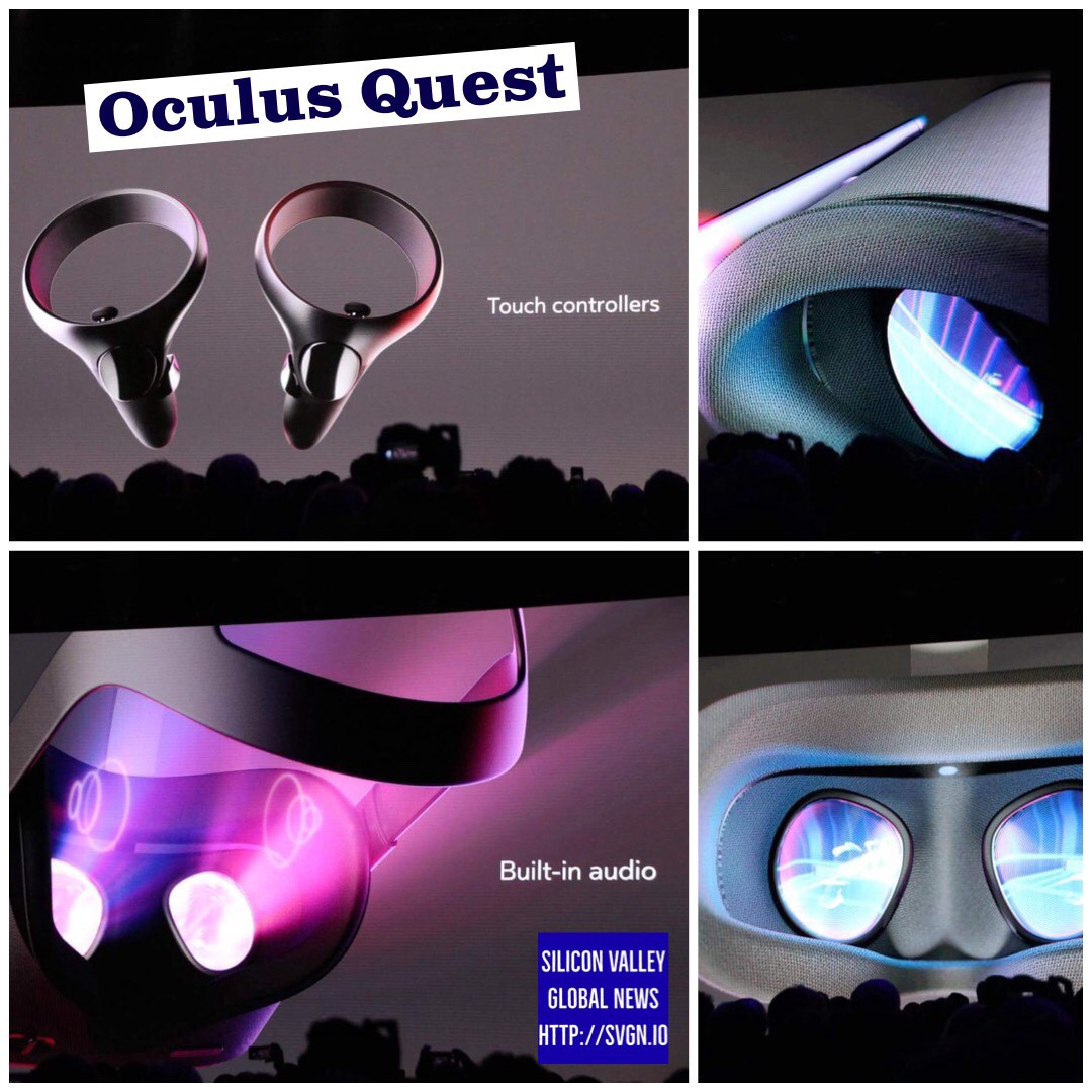 """Oculus Quest (formerly called Project Santa Cruz) ships in Spring of 2019 for $399 with """"Rift…"""