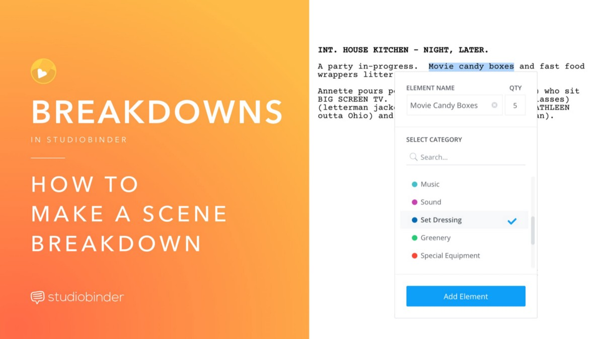 Production Scheduling Explained How To Make A Scene Breakdown