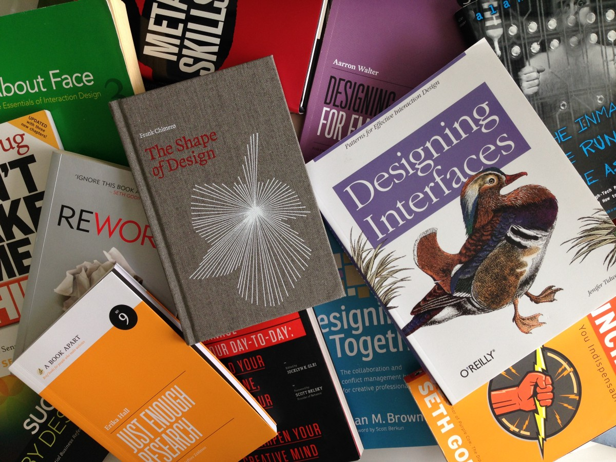 The list of all UX related books and blogs you ever need to read (well, almost)!