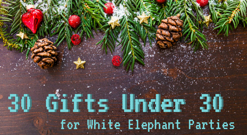 30 gifts under 30 for white elephant parties the chic geek medium