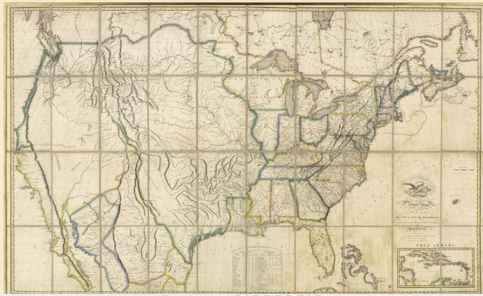 Mapping Texas: From Frontier to the Lone Star State — Western Expansion