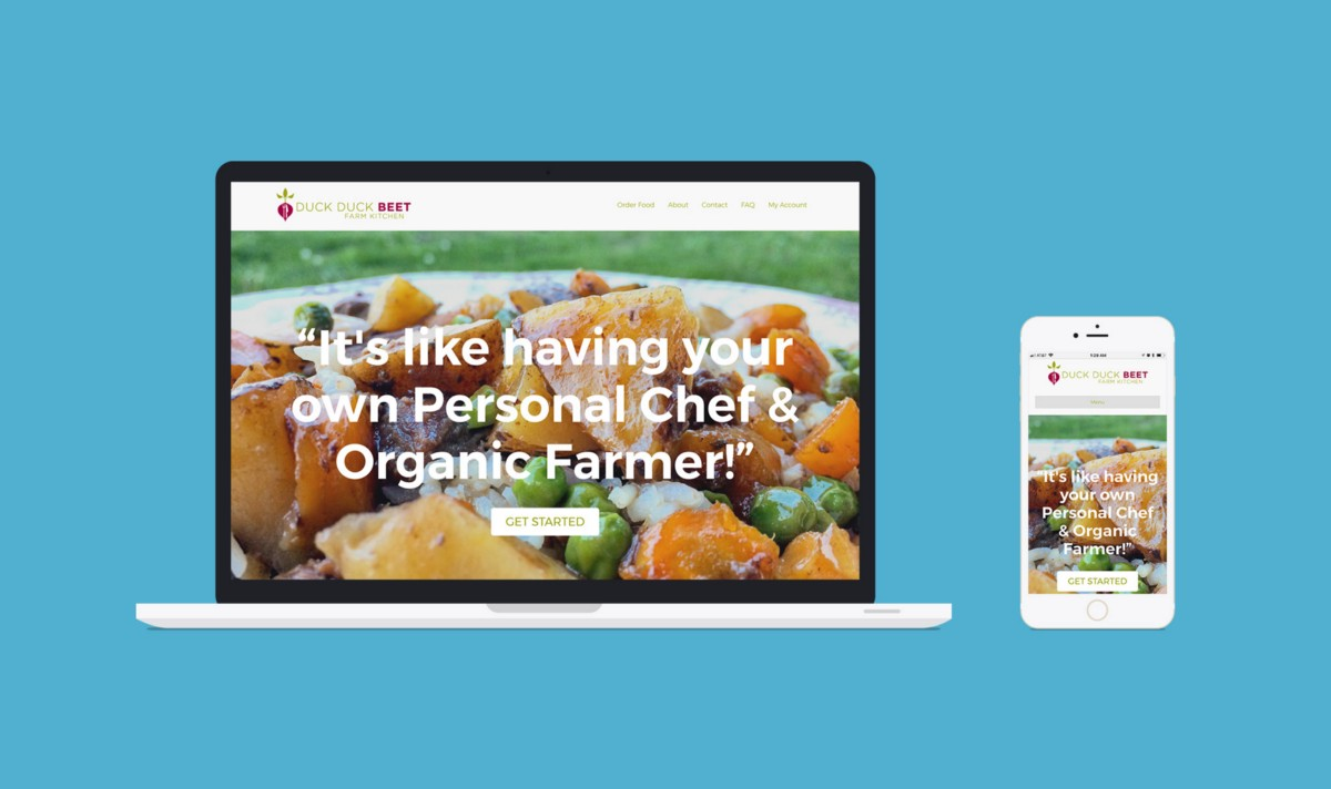 Building an Ecommerce Website for a Farm to Table Business