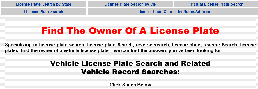 want to conduct a license plate search? make sure to get the best