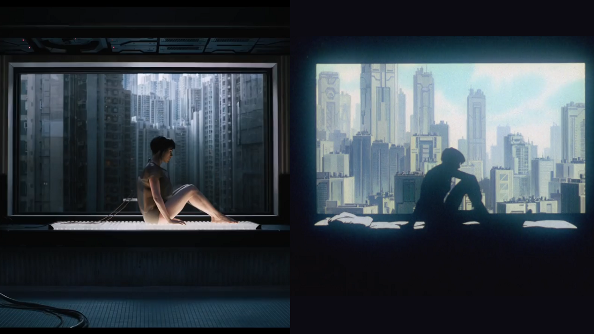 A love letter to Ghost in the Shell images of 30 shots in the