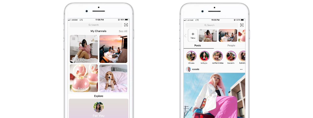 Instagram Concept: Allowing For More Self-Curated Content