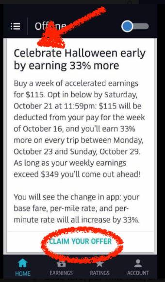 medium.com - Uber is charging drivers to work - Uber Screeds