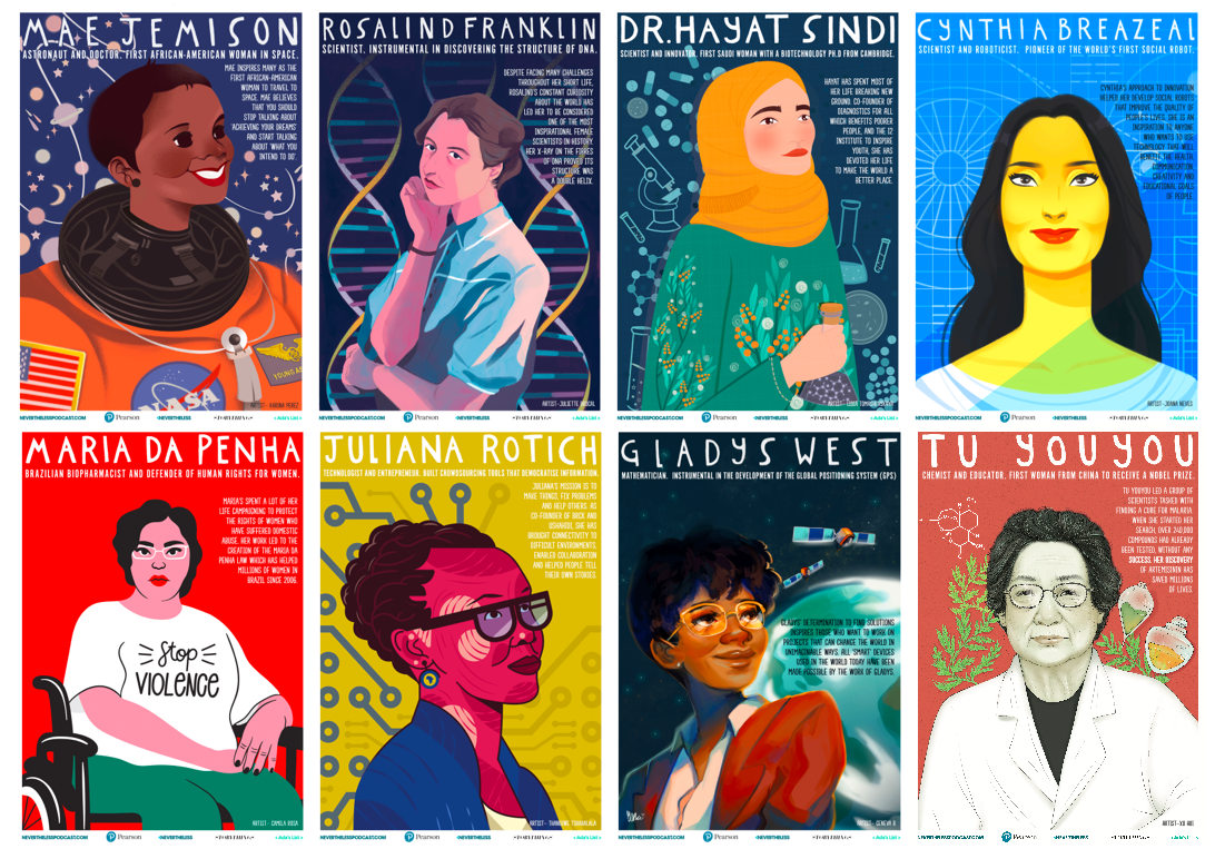 STEM Role Models Posters – Nevertheless Podcast – Medium