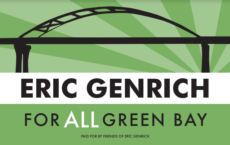 Eric Genrich for Mayor: Let's take Green Bay to the next level!