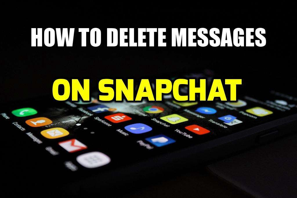 how to delete unwanted messages on snapchat