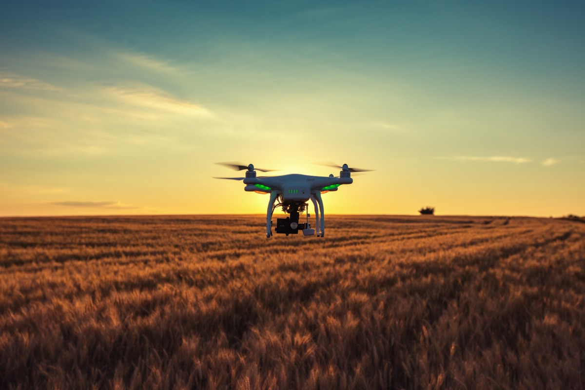 Drones In Agriculture Then And Now Dronedeploy S Blog