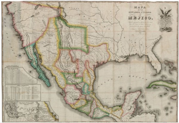 Mapping Texas From Frontier To The Lone Star State Mapa De Los - Mapa texas