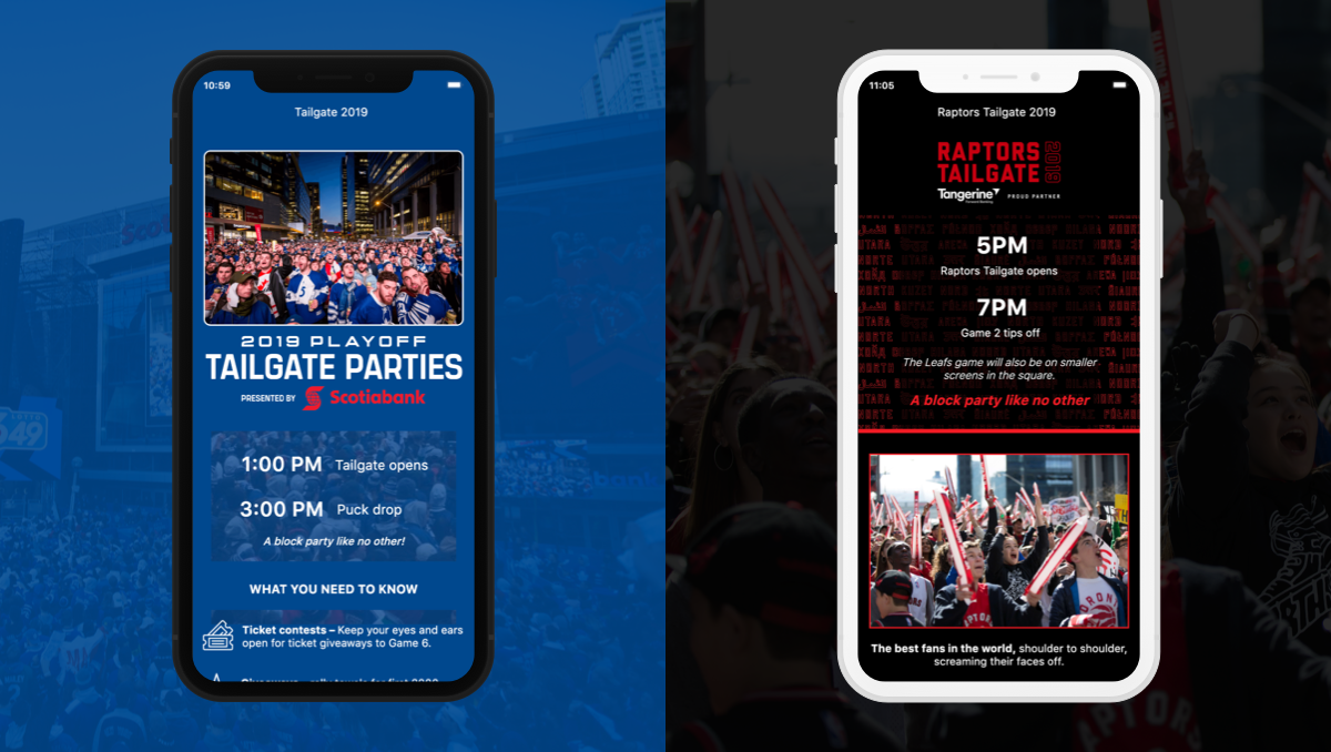 57d39c5ba6a2b4 It cannot be understated how focused Maple Leaf Sports and Entertainment  (MLSE) teams are on the fan experience. From engaging digital campaigns to  their ...