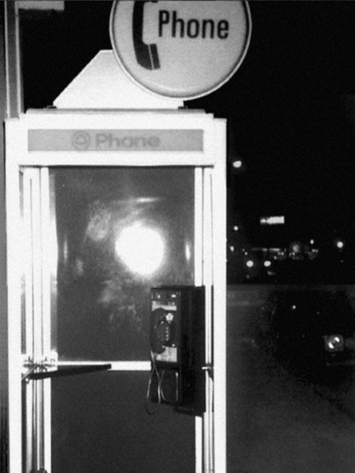 Someone phoned the police from this Vallejo phone booth claiming responsibility for the murders