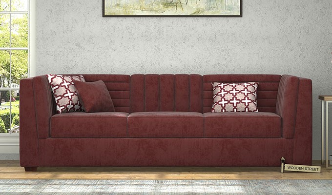 Stay Easy On The Pockets: Velvet Is Extravagant, And A Big Sofa Set Might  Make You Sign A Fat Cheque. Therefore, Buy Wisely. If The Price Is  Challenging ...