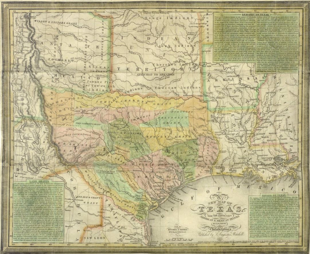 Mapping Texas From Frontier To The Lone Star State A New Map Of