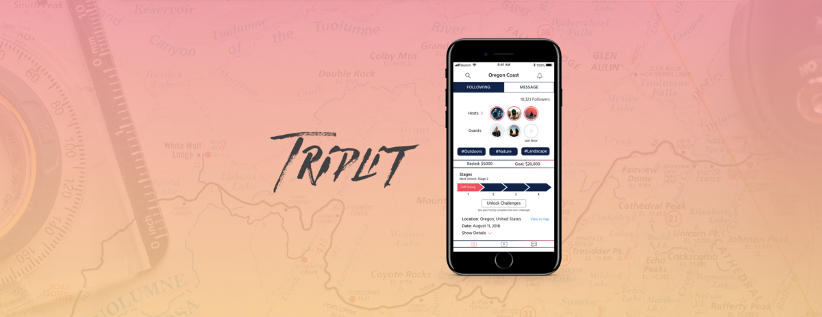 TripLIT: Connecting People With a Love for Adventures