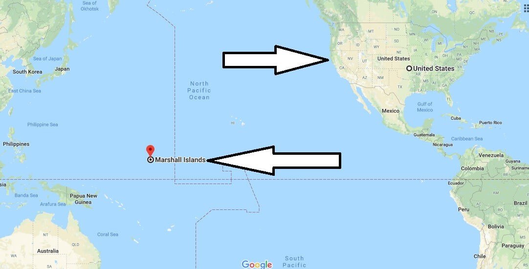 Where is Marshall Islands? Located in the World Map