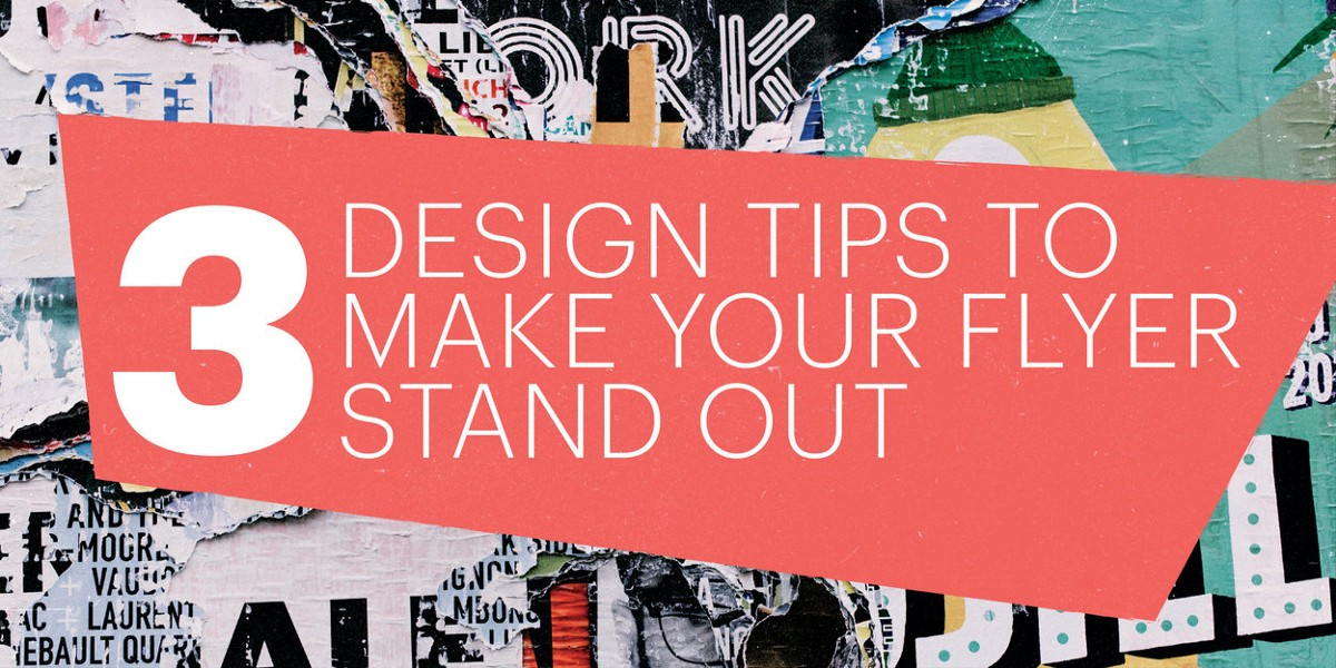 3 design tips to make your flyers stand out lucidpress for Decorating advice
