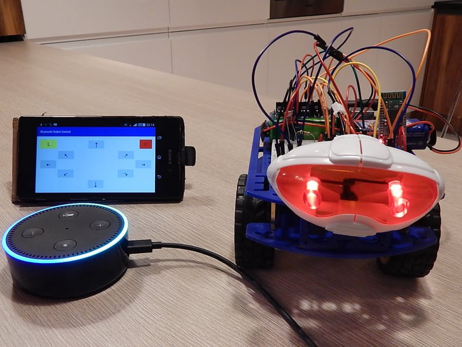 Android Phone Controlled Robot using Arduino
