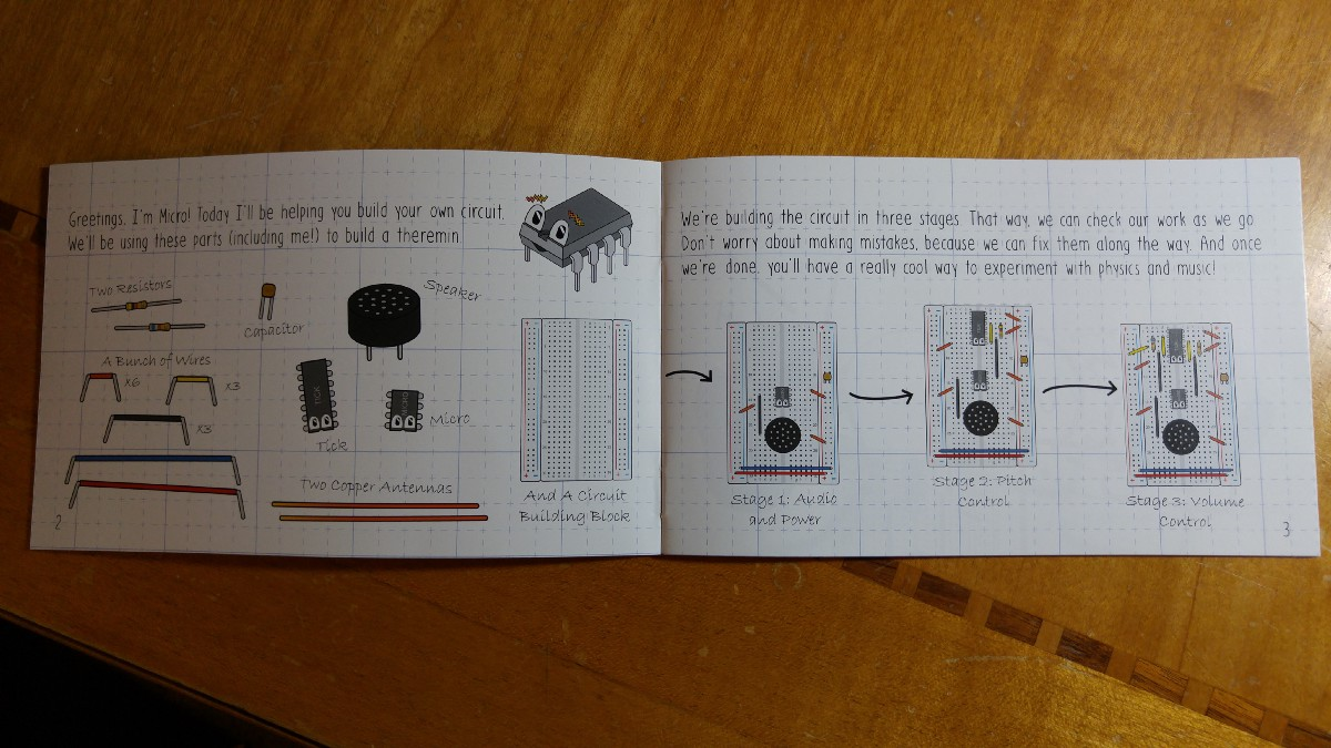 Assembling The Microkits Theremin Electronics Kit And More Circuit Diagram Instructions Cover Each Step Simply With Some Theory Along Way Wraps Up Definitions Safety Information
