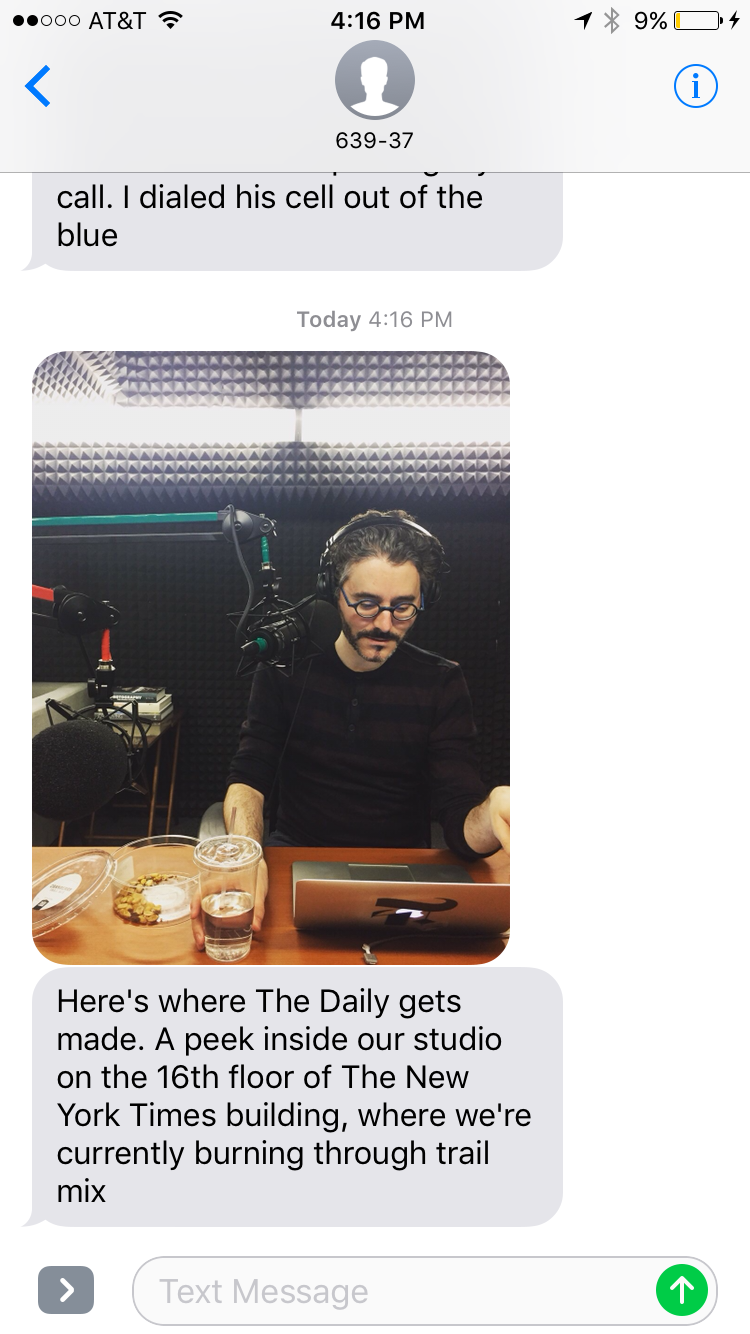 Recommendation: The Daily by The New York Times – Catalina