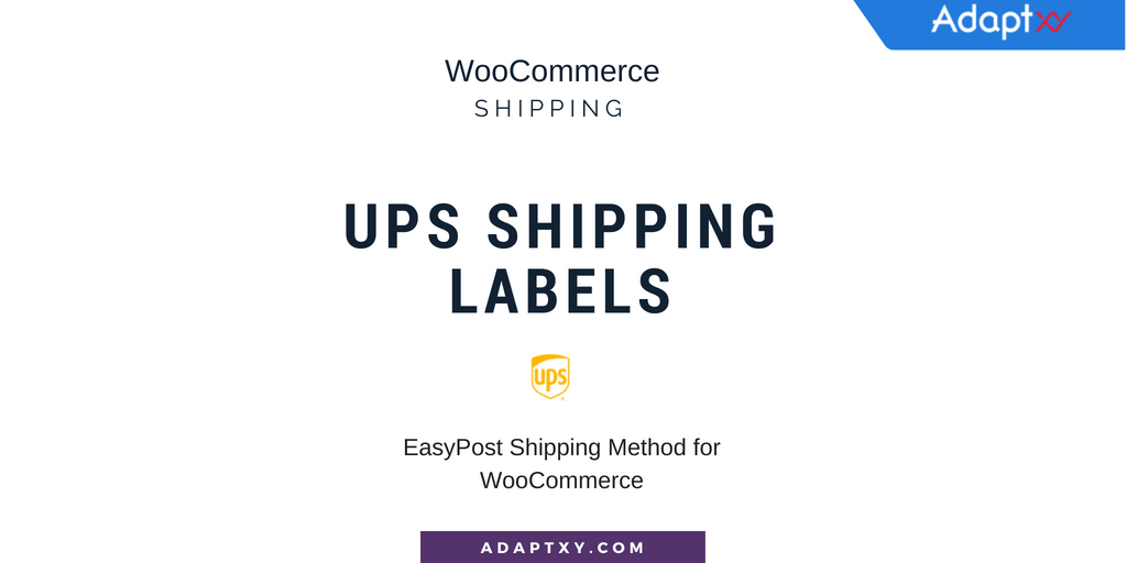 2454522fa612ff EasyPost Shipping Method for WooCommerce helps you print UPS shipping labels  along with FedEx and USPS. Users more benefits with EasyPost than  individual ...