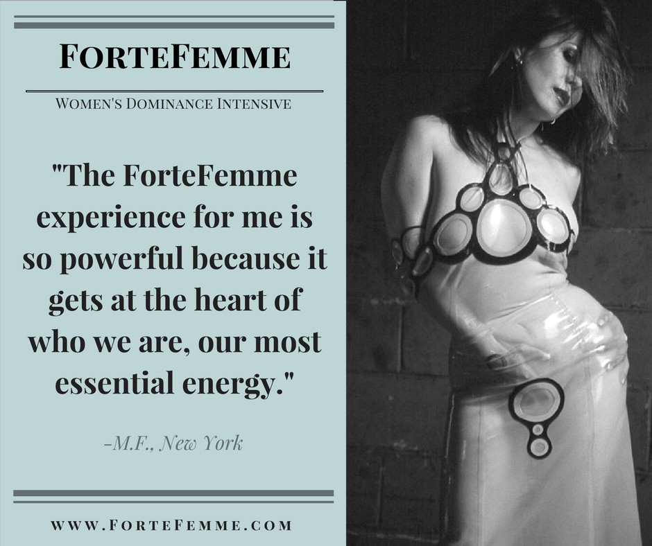 Rachel White ForteFemme Article