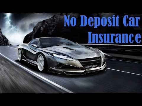 Get Help To Find And Compare The Best No Deposit Monthly Car - No deposit car insurance