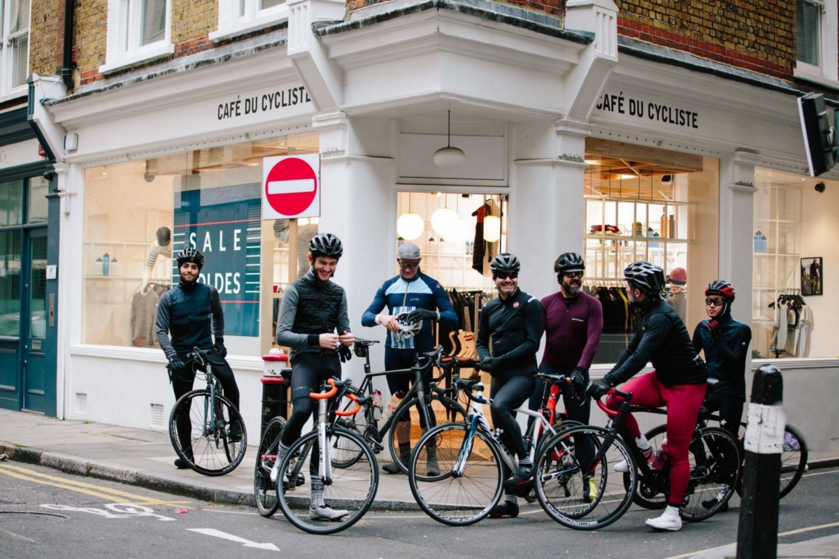 Some shots from Café du Cycliste rides in London and Nice 74dd70c6e