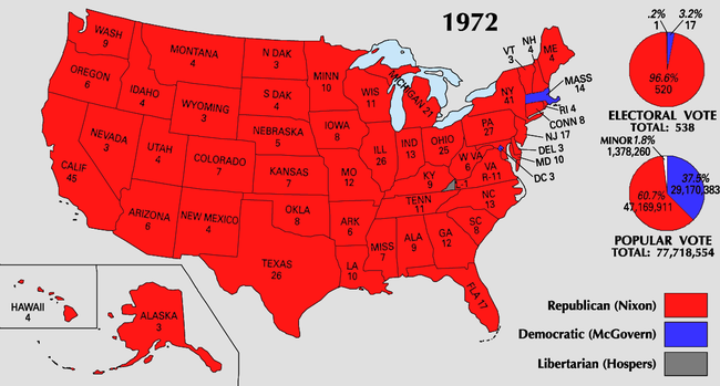 There Was No Such Thing As A Blue State Before Bill Clinton