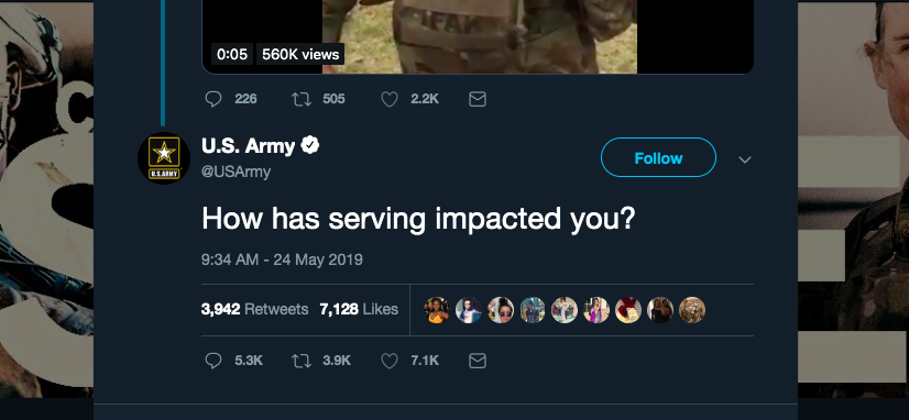 The US Army Asked Twitter How Service Has Impacted People. The Answers Were Gut-Wrenching.